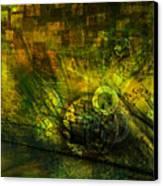 Green Lantern Canvas Print by Monroe Snook