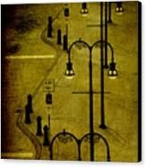 Green Light Canvas Print by Susanne Van Hulst