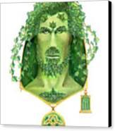 Ivy Green Man Canvas Print
