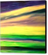 Green Sea Canvas Print