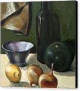 Green Still-life Canvas Print