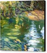 Green Treasure Canvas Print by Lucinda  Hansen
