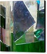 Green Vase Canvas Print by Jamie Frier