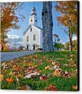 Greenfield Church Canvas Print by Susan Cole Kelly