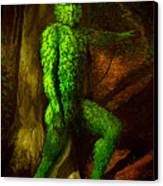 Greenman Canvas Print