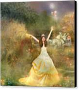 Grimms Fairie Cinderella  Canvas Print by Carrie Jackson