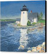 Grindle Point Light Canvas Print