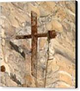 Gristmill Cross Two Canvas Print