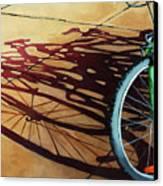 Group Hug - Bicycle Art Canvas Print by Linda Apple