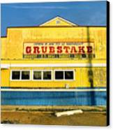 Grubstake Canvas Print by Steven Ainsworth