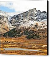 Guanella Pass Colorado Canvas Print by Beth Riser
