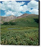 Guanella Pass Mt Bierstadt Canvas Print by Michael Kirsh