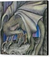 Guardian Dragon Canvas Print