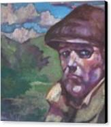 Guarding The Mountain Pass Canvas Print