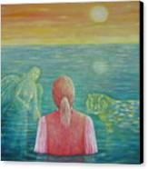 Guides Canvas Print by Hiske Tas Bain