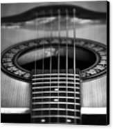 Guitar Close Up Canvas Print
