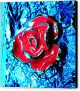 Gum Wrapper - Blue Canvas Print