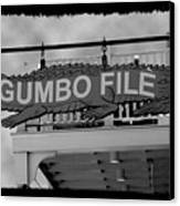 Gumbo File Canvas Print
