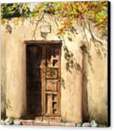Hacienda Gate Canvas Print by Sam Sidders