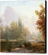 Half Dome Yosemite Canvas Print