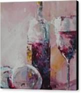 Half Savored Canvas Print by John Henne