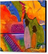 Hallelujah Praise Canvas Print by Angela L Walker