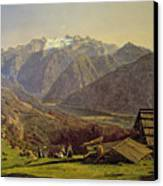 Hallstatter See Canvas Print