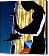 Hammering Man Canvas Print by Tim Allen