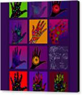 Hands Poster Canvas Print by Lydia L Kramer