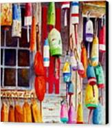 Hanging Around Canvas Print by Karen Fleschler