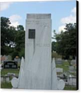 Hank Williams Sr. Headstone Canvas Print