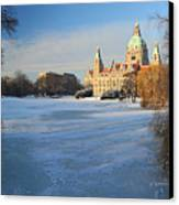 Hanover In Winter Canvas Print