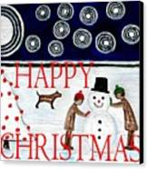 Happy Christmas 29 Canvas Print by Patrick J Murphy