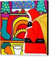 Happy Christmas 30 Canvas Print by Patrick J Murphy