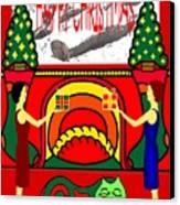 Happy Christmas 32 Canvas Print