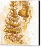 Happy Christmas Canvas Print by Brian Kesinger