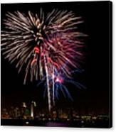 Happy Fourth Of July Canvas Print by Thanh Thuy Nguyen