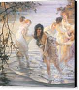 Happy Games Canvas Print by Paul Chabas
