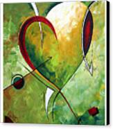 Happy Mother's Day By Madart Canvas Print by Megan Duncanson