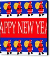 Happy New Year 7 Canvas Print