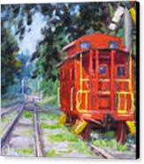 Happy Rails Canvas Print