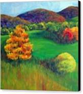 Happy Valley Hills Canvas Print by Lyn Vic