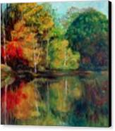 Happy Valley Pond Canvas Print by Lyn Vic