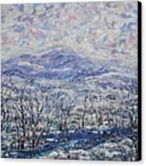 Happy Winter. Canvas Print
