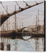 Harbor At Rest Canvas Print