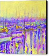 Harbor Sunrise II  Seven Am Canvas Print