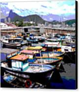 Harbour 01 Canvas Print