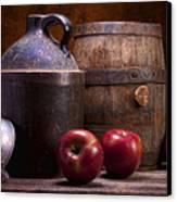 Hard Cider Still Life Canvas Print