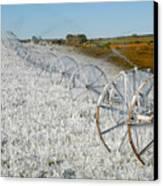 Hard Land Farming Canvas Print