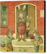 Hare School Canvas Print